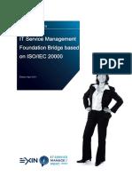 Sample Exam ITSM Foundation Bridge English