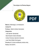 METROLOGIA Y NORMALIZACION PRACTICA.