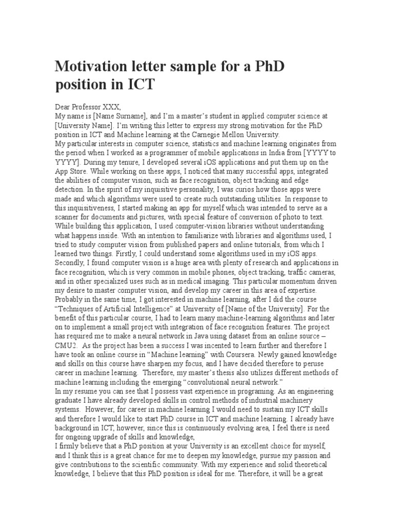Phd Application Letter Sample from imgv2-1-f.scribdassets.com