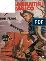 [Bolsilibros] [Arizona 27] Prado, Fidel - El Manantial Tragico [32825] (r1.0)