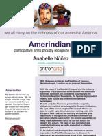 Anabelle Núñez, Amerindian, Participative art proposal, entrenarte, 2010