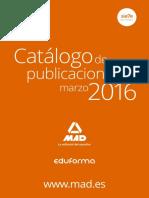 Lista Libros Publicados Editorial Mad