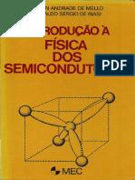 Introdução À Física Dos Semicondutores