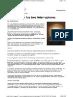 Tres Interruptores (a Paenza)
