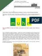Copa do Muhm - 140 anos Hospital Beneficência Portuguesa - Acontece no Museu de História da Medicina[Newsletter 16]