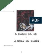 El dilogun y el obi