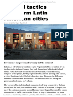 Radical Tactics Transform Latin American Cities _ Reviews _ Architectural Review