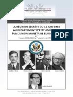 Departement d Etat Americain Note Du 11 Juin 1965 v14