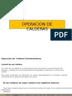 Operación de Calderas Humotubulares a Gas