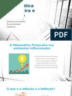 Matemática Financeira e Inflação