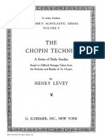 LEVEY, H. - The Chopin Technic. A serie of daily studies.pdf
