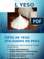 Diapo de Materiales El Yeso