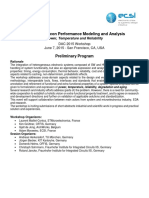Dac2015 Workshop - Performance Modeling and Analysis
