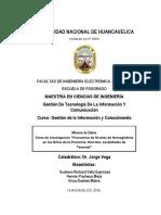 Mineria de Datos Unh Posgrado Ing.Gustavo Veliz , Ing.Hernan y ing.Erica