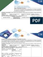 Guía de Actividades y Rúbrica de Evaluación – Fase 0 – Trabajo Análisis Del Curso