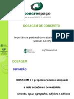 Dosagem Concreto Rubens Curti ABCP