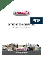 CATALOGO GENERAL LENNOX EQUIPOS COMERCIALES.pdf