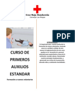 Cruz Roja Hondureña- Plan de Curso de PAS