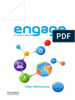 Engage 2nd Edition Starter Video Worksheets All Units Color