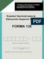 Forma 135 Enes Preguntas 2016