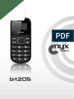 Celular Nyx 205