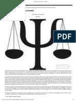 Psicología Juridico forense en Colombia