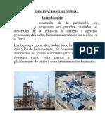 Contaminacion Del Suelo Peru