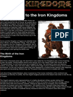 Iron Kingdoms - Iron Kingdoms and Realms