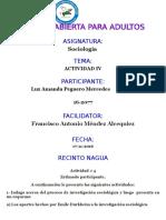 Tarea IV Sociologia Amanda Peguero