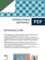 1 OPERACIONES UNITARIAS