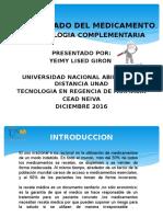 Estrategia Usos Adecuado Medicamentos _farmacologia Complementaria