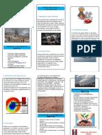 Triptico de La Contaminacion Ambiental1