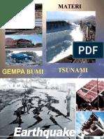 1 - Gempa Bumi & TSUNAMI