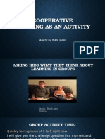 cooperative learning lesson 2nd
