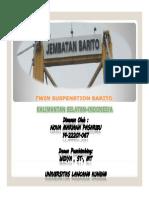 Twin Suspenstion Barito