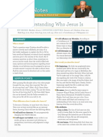 Understanding Who Jesus Is