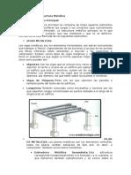Tipos de Estructuras Metálicas