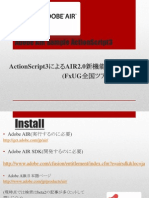 Adobe AIR Sample by Action Script 3