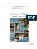 Manual del DSRD para la inscripción de cursos
