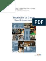 Manual del DSRD para la inscripción de cursos