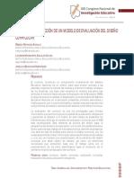HACIA LA CONSTRUCCIÓN DE UN MODELO DE EVALUACIÓN DEL DISEÑO CURRICULAR