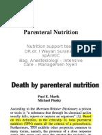 (13) Parenteral Nutrition Sm v 2015