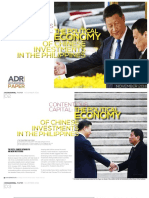 Contentious Capital the Political Economy of Chinese Investments in the Philippines
