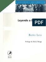 Levi Beppo - Leyendo a Euclides