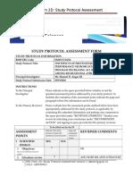 Erc Form 2 d Study Protocol Assessment v2-0