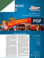 Revista Humanidad en Red, n°2 En Defensa de La Integración de Los Pueblos