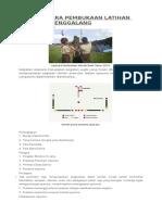Tata Upacara Pembukaan Latihan Pramuka Penggalang