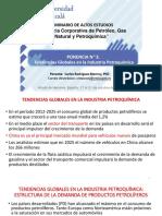Ponencia 1 TENDENCIAS GLOBALES EN LA  INDUSTRIA PETROQU+ìMICA