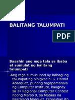 BALITANG TALUMPATI-panayam(test).ppt