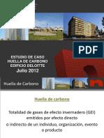 Huella de Carbono Edificios
